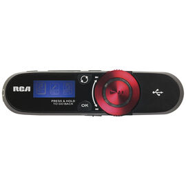 RCA Sportsclip MP3 Player - Black/Red - TH2014