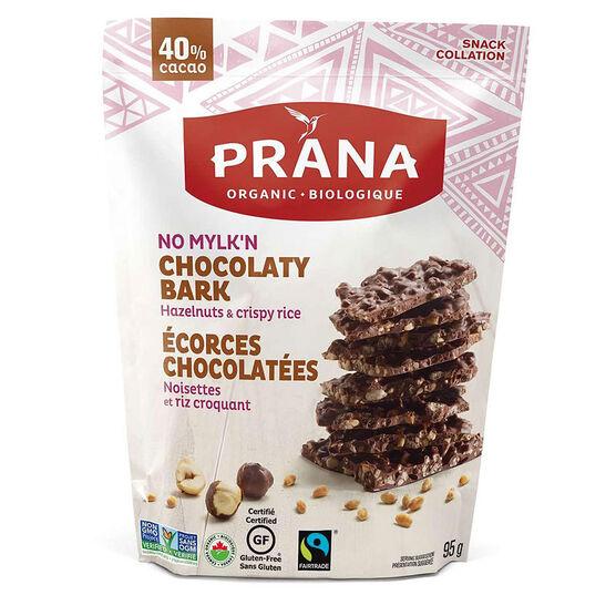 Prana Chocolate Bark - No Mylk'n - 95g