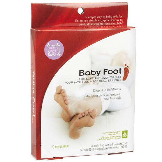 Baby Foot Deep Skin Exfoliant - Lavender - 2x35ml socks