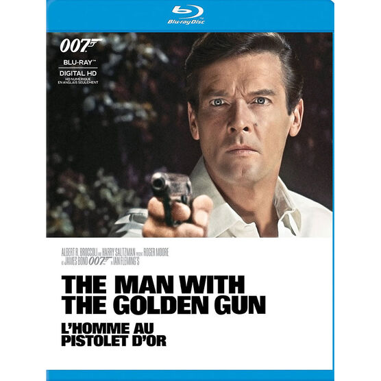 The Man With The Golden Gun (1974) - Blu-ray
