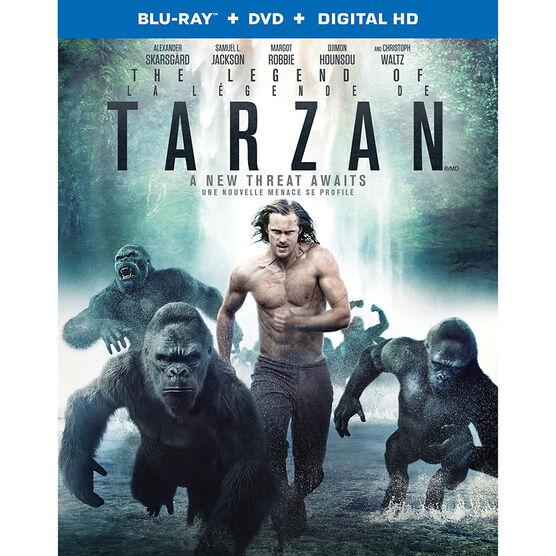 The Legend of Tarzan - Blu-ray