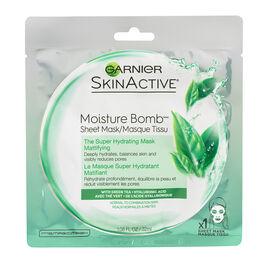 Garnier SkinActive Moisture Bomb The Super Hydrating Sheet Mask - Mattifying - 32ml