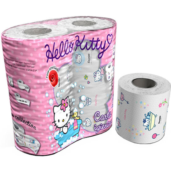 Hello Kitty Toilet Paper - 4's