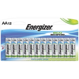 Energizer Eco Advance Battery - AA - 12 pack