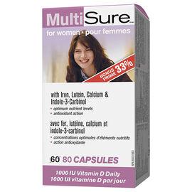 Webber MultiSure MultiVitamin & Mineral Supplement - Women - 60's