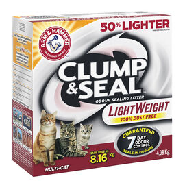 Arm & Hammer Clump and Seal Cat Litter - 4.08kg