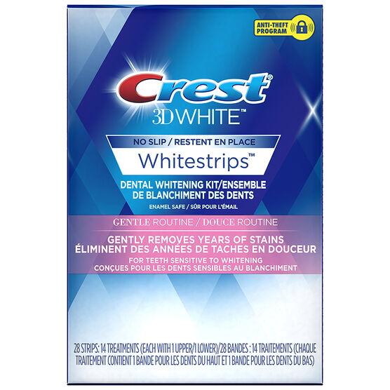 Crest 3D White Whitestrips - Gentle Routine - 14 Treatments