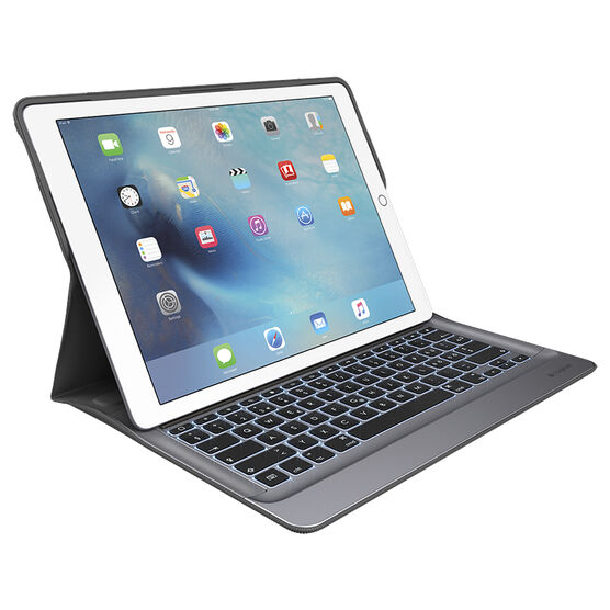Logitech Create Backlit Keyboard Case with Smart Connector for iPad Pro 12.9 - Black