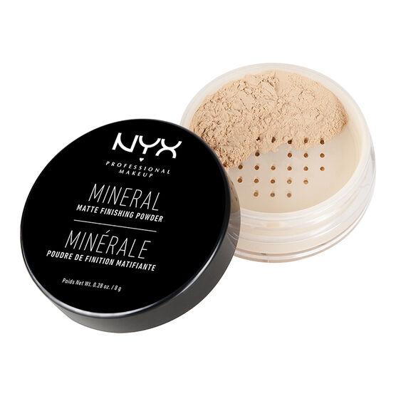 NYX Professional Makeup Mineral Finish Powder - Light Medium