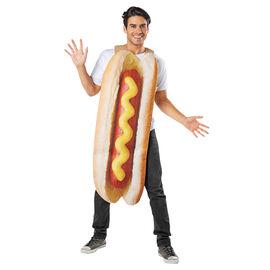 Halloween Hot Dog Costume - Adult