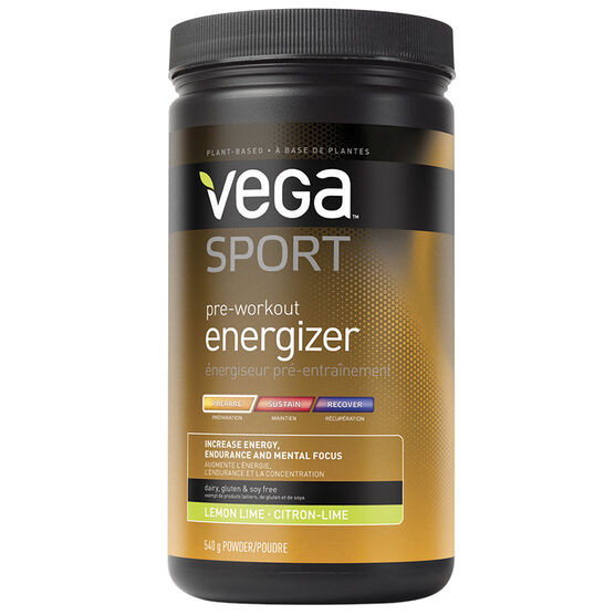 Vega Sport Pre-Workout Energizer - Lemon Lime - 540g