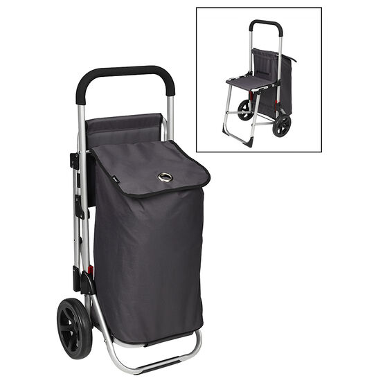 London Drugs Shopping Trolley with Seat - LF250