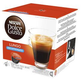 Nescafe Dolce Lungo Coffee Pods - Decaffeinato - 16's