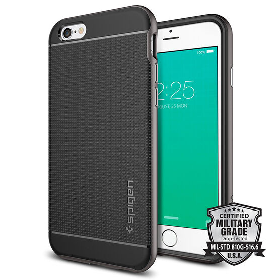 Spigen Neo Hybrid Case for iPhone 6/6s - Gunmetal - SGP11618