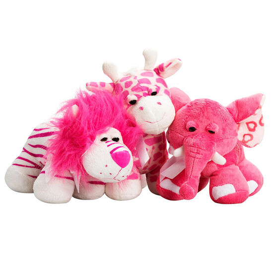 Valentine's Wild Plush Animals - 9inch - Assorted