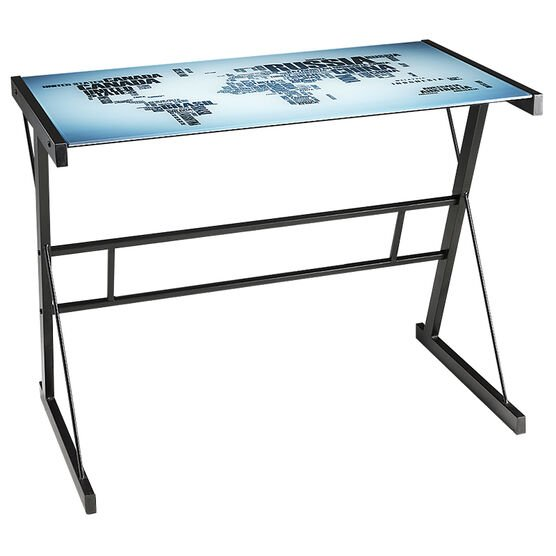 London Drugs Computer Desk with Glass Top - 90x50x72cm