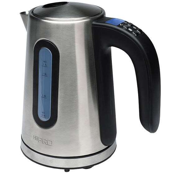 Hamilton Beach 1.7L Digital Kettle - Stainless Steel - 41000