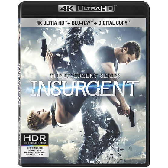 Insurgent - 4K UHD Blu-ray