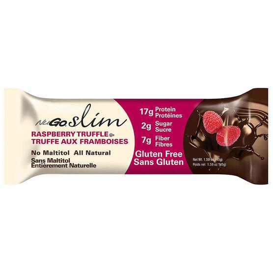 NuGo Slim Protein Bar - Raspberry Trufflewith High Fibre - 45g
