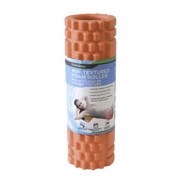 PurAthletics Mini Foam Roller - Orange - 12in