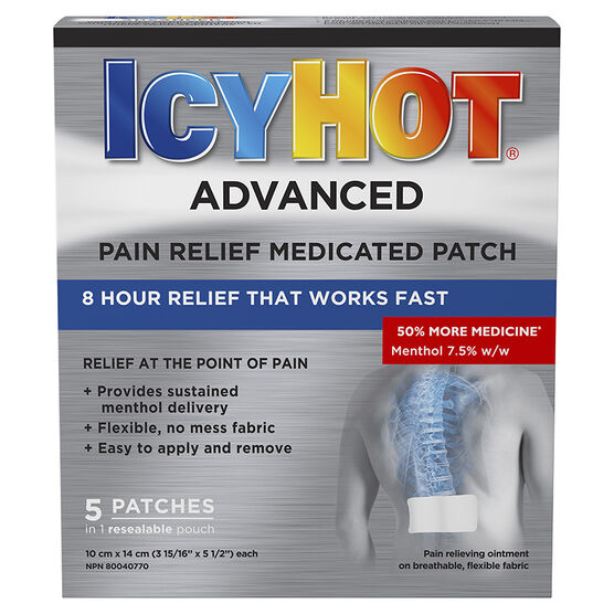 Icy Hot Advanced Patches - 5's