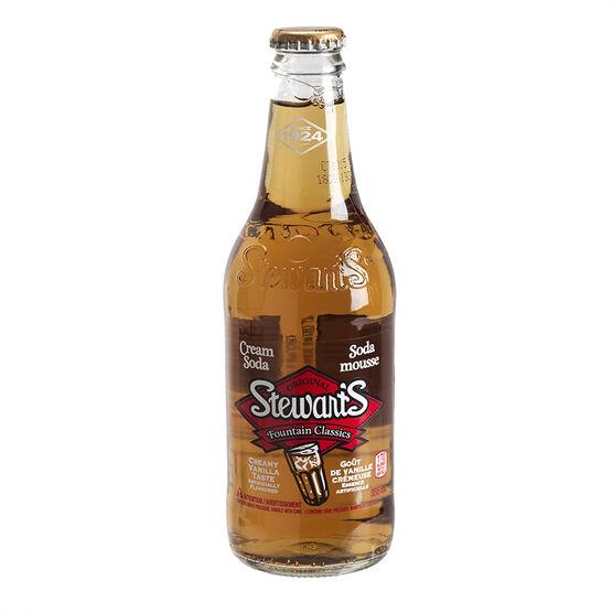Stewart's Soda - Cream - 355ml