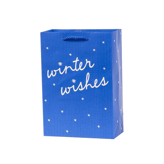 Plus Mark Winter Wishes Gift Bag - Small - 052039LDT