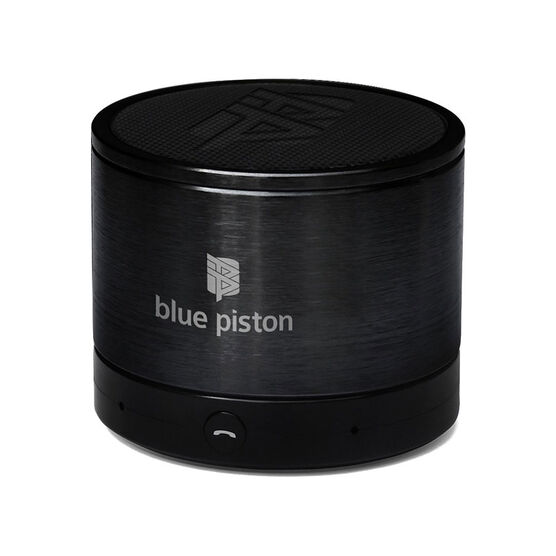 Logiix Blue Piston Bluetooth Speaker - Black - LGX10609
