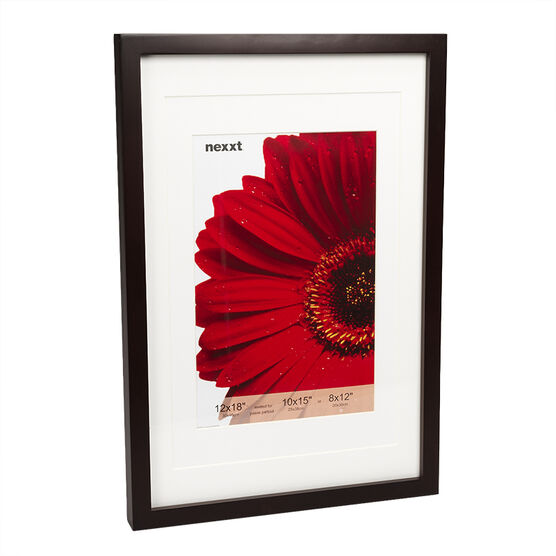 Nexxt by Linea Gallery Frame - 12x18-inch - Java