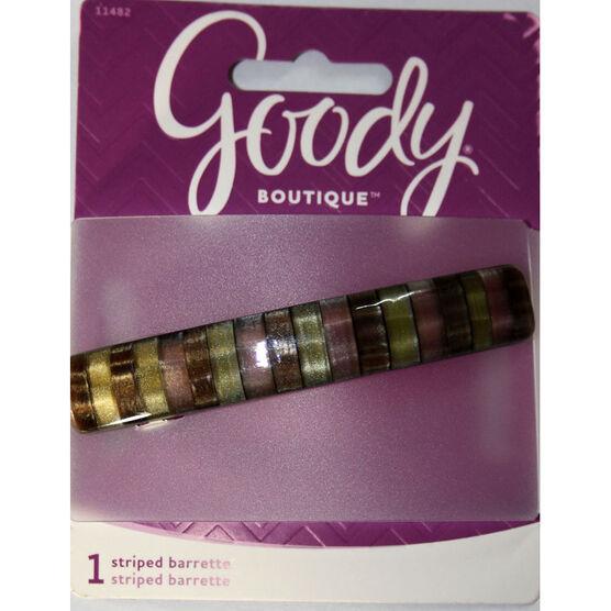 Goody Boutique Striped Barrette - 11482