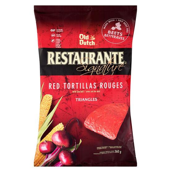 Old Dutch Restaurante  Tortilla Chips - Red - 360g
