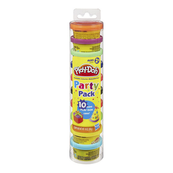 Play-Doh Party Pack Tube - 10 pack