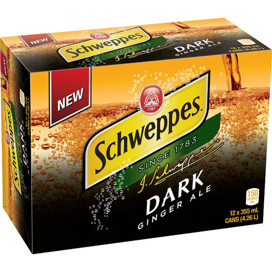 Schweppes Dark Ale - 12 pack