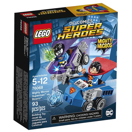 Lego Super Heroes Mighty Micros: Superman vs. Bizarro - 76068