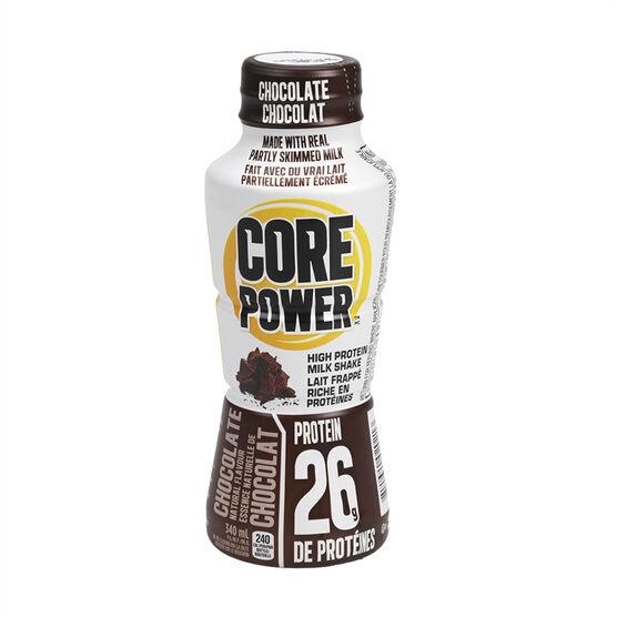Core Power High Protein Milk Shake - Chocolate - 340ml