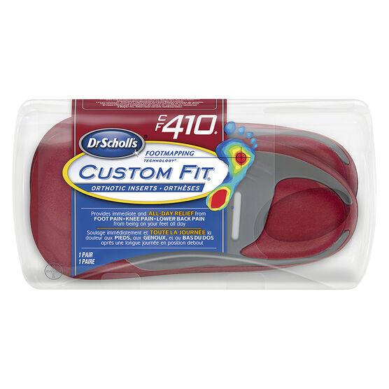Dr. Scholl's Custom Fit Orthotic Insoles - CF410 - M6.5/W7.5
