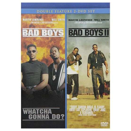 Bad Boys And Bad Boys 2 - Double Feature - 2 DVD