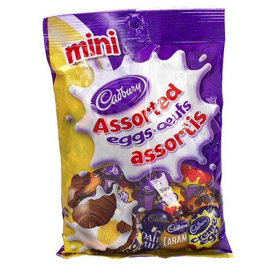 Cadbury Mini Eggs  - Assorted - 154g