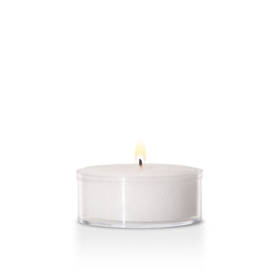 Yummi Tealights - White - 50 pack