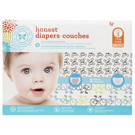 The Honest Company Honest Diapers - Size 3 - 68's - Boys