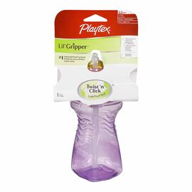 Playtex Lil' Gripper Straw Cup - 1 pack - Assorted Colours