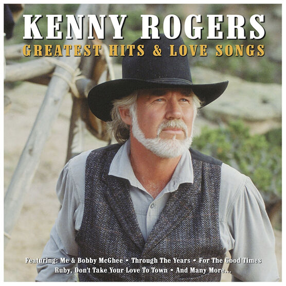 Kenny Rogers - Greatest Hits and Love Songs - 2 CD