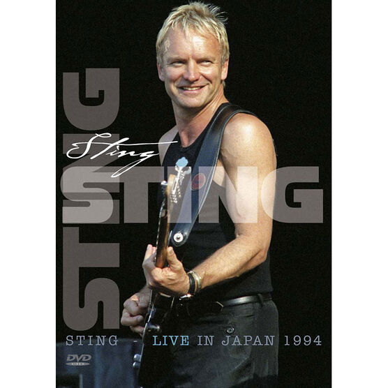 Sting: 1994 Live in Japan - DVD