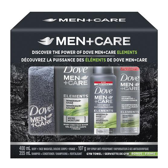 Dove Men+Care Elements Gift Set - 3 piece