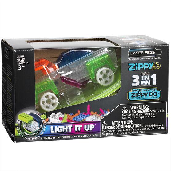 Laser Pegs Car Aircraft