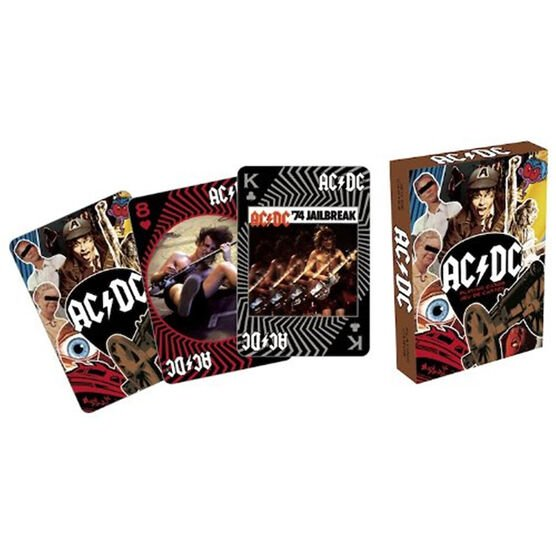 ACDC Playing Cards