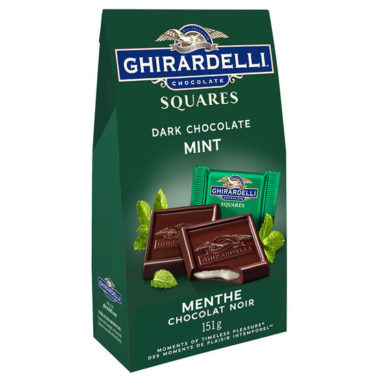 Ghirardelli Chocolate Squares - Mint - 151g