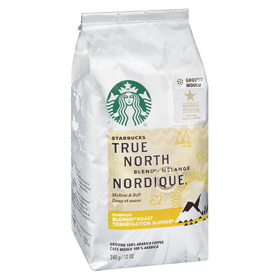 Starbucks True North Ground Coffee - Blonde Roast - 340g