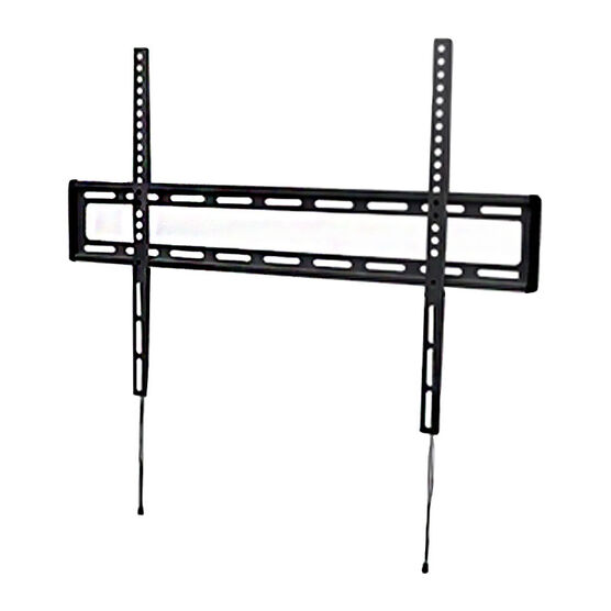 "IQ Extra Large Fixed Wall Mount for 47"" - 84"" Panels - Black - IQXF4784"