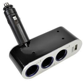 HRS 3-Way Car Adapter - 12V - CAR785